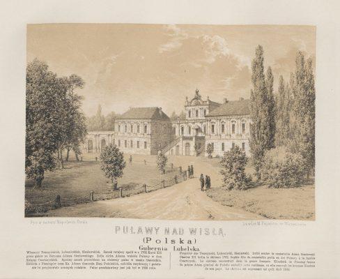 ORDA NAPOLEON Puławy nad Wisłą [litografia]