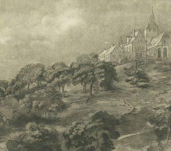 CHODOWIECKI DANIEL - Krajobraz według Rembrandta