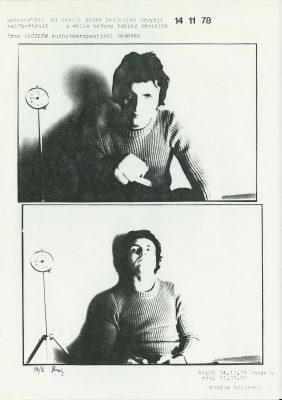 ROPIECKI WACŁAW autoportret na chwilę przed podjęciem decyzji