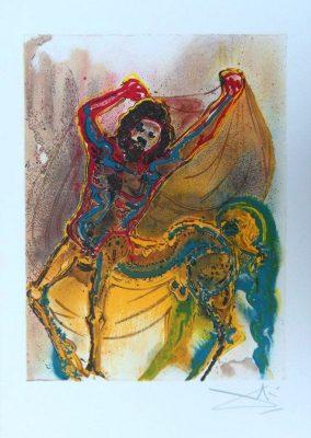 DALI SALVADOR Centaur [litografia, limitowana edycja]