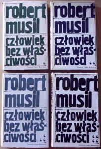 MUSIL ROBERT - Człowiek bez właściwości t. 1-4
