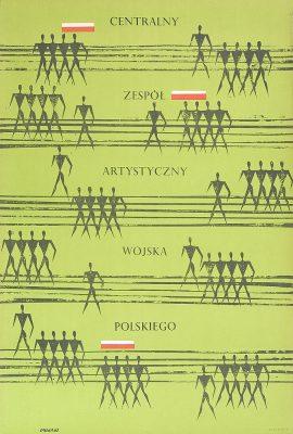OPAŁKA ROMAN Centralny Zespół Artystyczny Wojska Polskiego [plakat]