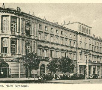 Warszawa. Hotel Europejski [pocztówka]
