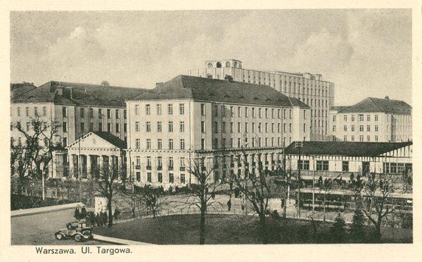 Warszawa. Ulica Targowa [pocztówka]