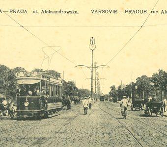 Warszawa - Praga ul. Aleksandrowska [pocztówka]