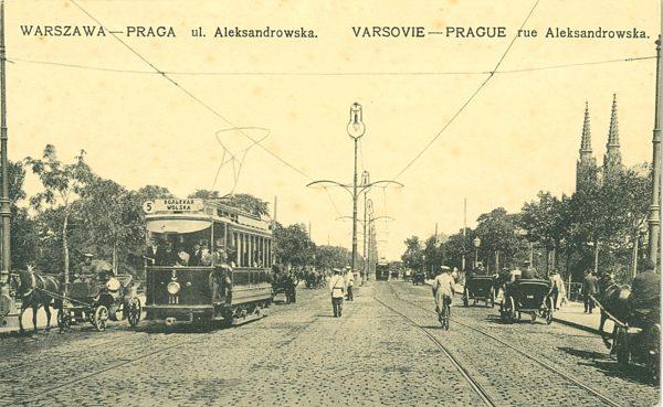 Warszawa – Praga ul. Aleksandrowska [pocztówka]
