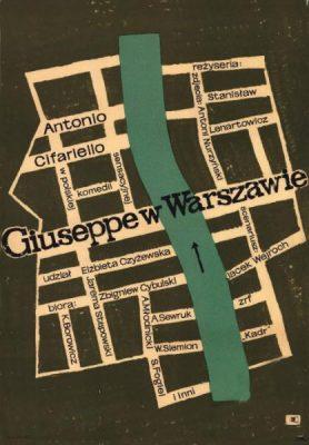 FLISAK JERZY Giuseppe w Warszawie [plakat]