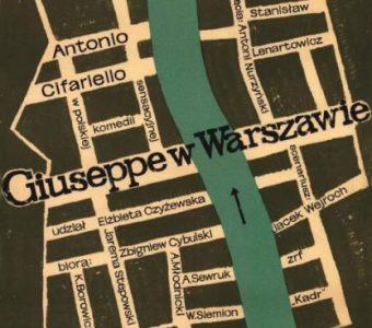 FLISAK JERZY - Giuseppe w Warszawie [plakat]