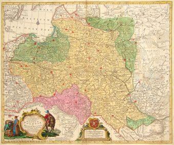 LOTTER TOBIAS CONRAD - Regnum Poloniae.. [Mapa Polski]