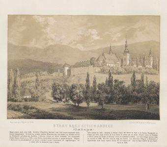 ORDA NAPOLEON - Stary Sącz [litografia]