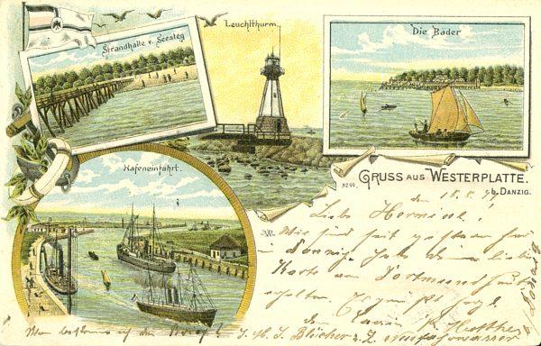 Grus aus Westerplatte [pocztówka]