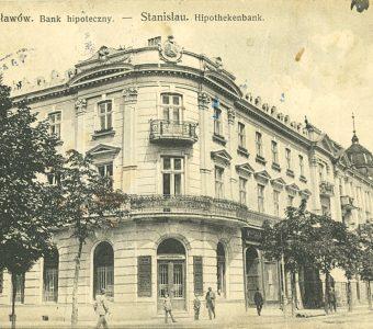 Stanisławów. Bank hipoteczny [pocztówka]