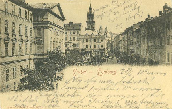 Lwów – Lemberg [pocztówka]