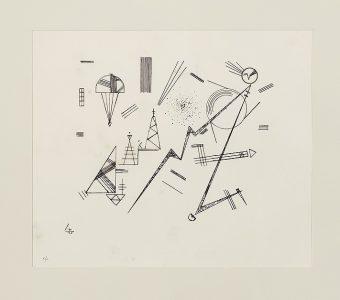 KANDINSKY WASSILY - Kompozycja abstrakcyjna [litografia, sygnowana]