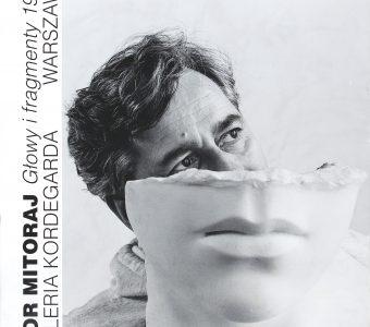 """Igor Mitoraj """"Głowy i fragmenty 1993"""" [plakat]"""