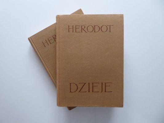 HERODOT Dzieje, t. 1-2