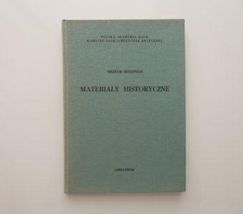 NIKEFOR BRYENNIOS - Materiały historyczne