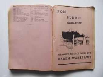 Spis abonentów Warszawskiej Sieci Telefonów 1938/39