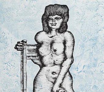 LEBENSTEIN JAN - Sonia [litografia sygnowana]