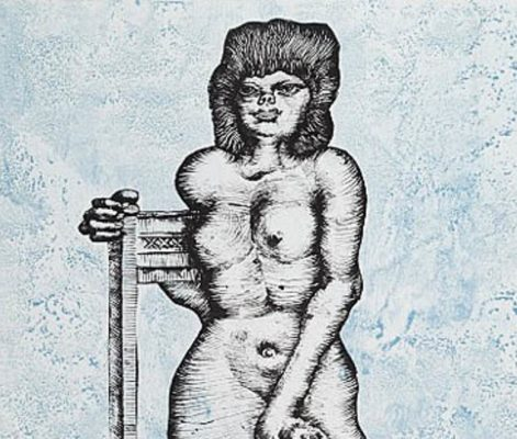 LEBENSTEIN JAN Sonia [litografia sygnowana]
