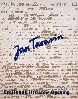 TARASIN JAN Otwarcie. Serigrafie i teksty 1974-1983