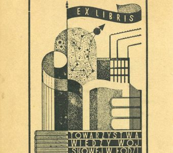 HILLER KAROL - Exlibris [cynkografia]