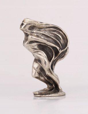 BIEGAS BOLESŁAW Kobieta z woalem [brąz srebrzony]