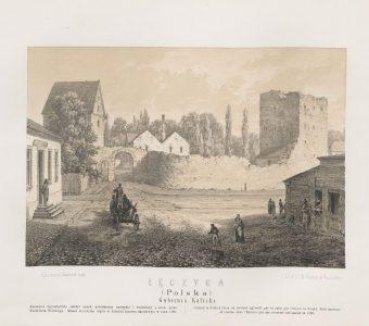 ORDA NAPOLEON - Łęczyca [litografia]