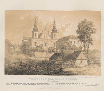 ORDA NAPOLEON - Wieruszów [litografia]