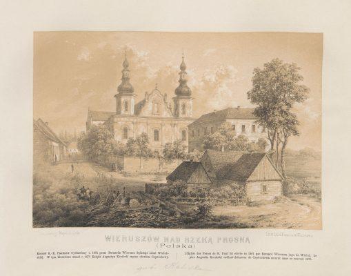 ORDA NAPOLEON Wieruszów [litografia]