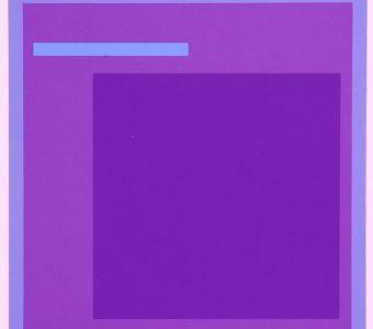 STAŻEWSKI HENRYK - Kompozycja abstrakcyjna [serigrafia, sygnowana] 2
