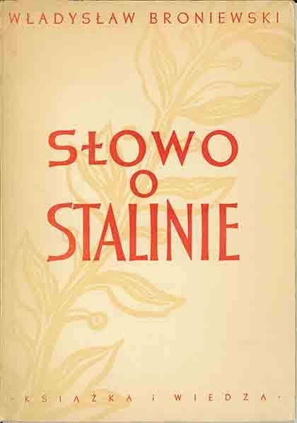 Słowo o Stalinie [egz. z dedykacją od autora]