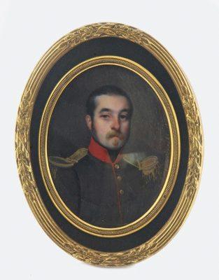 KWIATKOWSKI TEOFIL Portret oficera