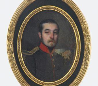 KWIATKOWSKI TEOFIL - Portret oficera
