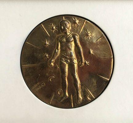MITORAJ Igor Articulations [medal, brąz patynowany]