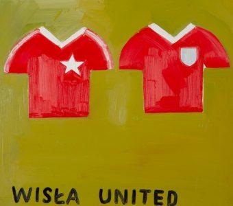 MACIEJOWSKI MARCIN - Wisła United [olej na płótnie]