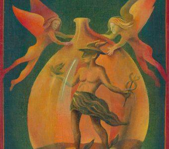 WANIEK HENRYK - Hermes [olej na płótnie]