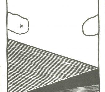 FIJAŁKOWSKI STANISŁAW - Małe płaczące niebo [linoryt sygnowany]
