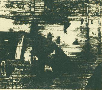 TARASIN JAN - Kompozycja [drzeworyt sygnowany]