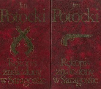 POTOCKI JAN - Rękopis znaleziony w Saragossie, t. I-II