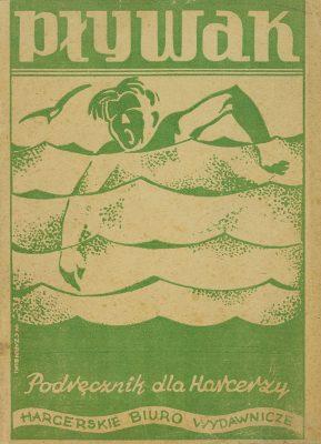 PETEREK STANISŁAW Pływak. Podręcznik dla harcerzy [dedykacja od autora]