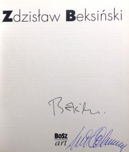 Zdzisław Beksiński [album z autografem !]