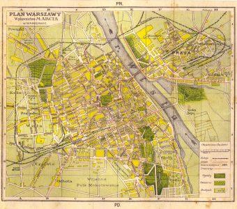 Plan Warszawy [1918]