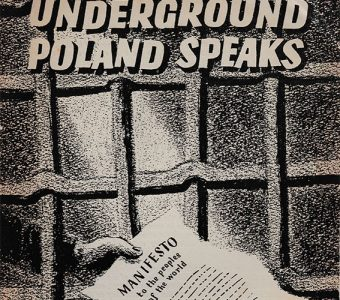 Underground Poland Speaks [Manifesto to the People of the World]