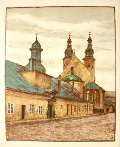 Kraków. Sześć autolitografii [teka]