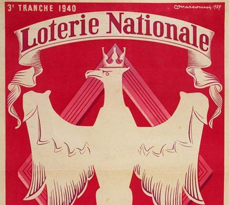 MARCOUSSIS LOUIS Loterie Nationale Tranche De La Pologne Heroique [plakat]