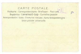 BASCH ARPAD - Hiszpanka [pocztówka secesyjna]