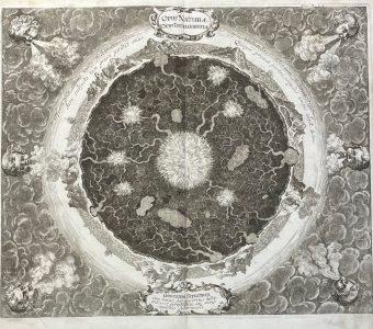 KIRCHER ATHANASIUS - Wnętrze Ziemi [miedzioryt]