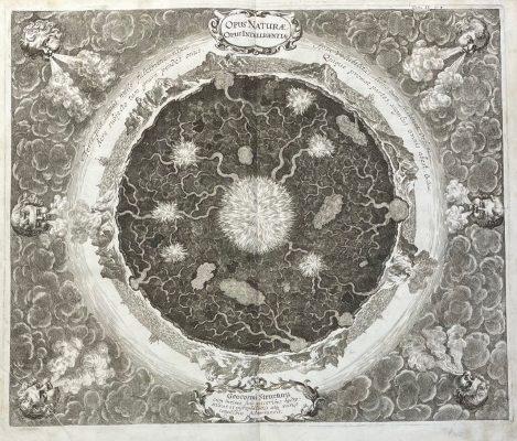 KIRCHER ATHANASIUS Wnętrze Ziemi [miedzioryt]