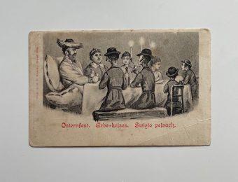 Święto Pejsach [pocztówka]